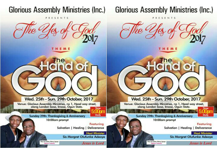 Glorious Assembly Ministries (Inc )